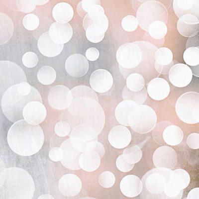 Cahaya Bokeh Emas Lingkaran Abstrak