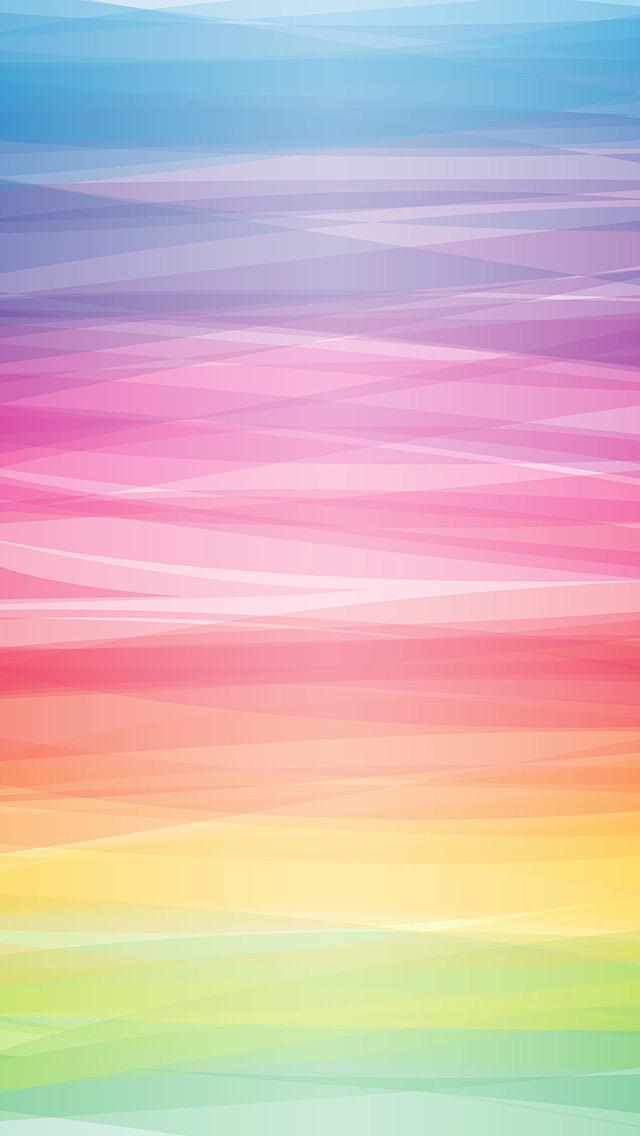 Garis Penuh Warna Abstrak
