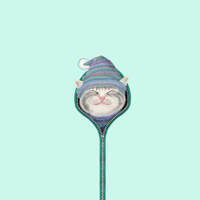 Kartun Kucing Imut Tertawa