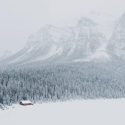 Pemandangan Musim Dingin 4K HD