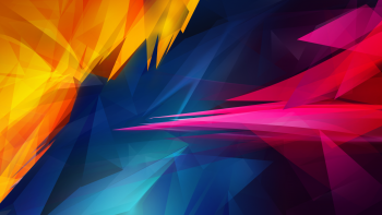 Abstract 3D Illustrasi Desktop Wallpaper