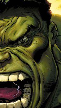 Muka Hulk Sedang Marah