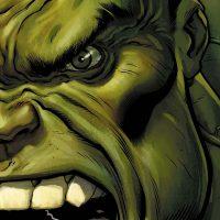Wajah Hulk Sedang Marah