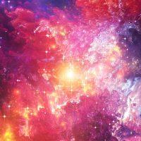 Luar Angkasa Benda Langit Memancarkan Cahaya