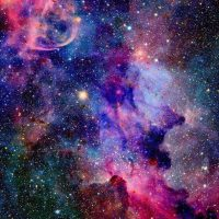 Luar Angkasa Galaksi Full Warna