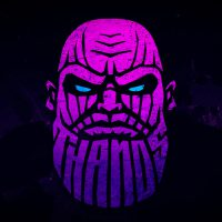 Logo Thanos Warna Gradient
