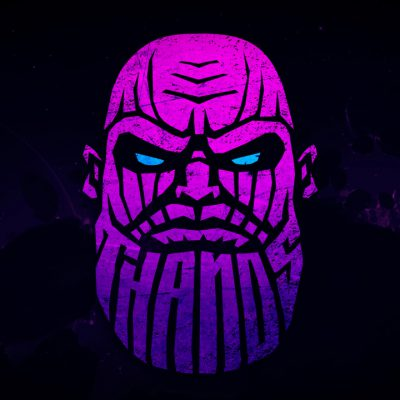 logo thanos gradient