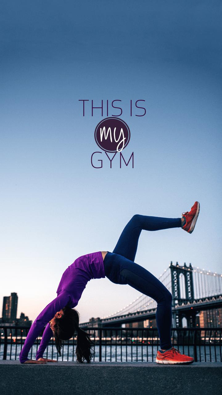 Orang Olahraga Sehat Gym Fitness