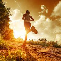 Orang Olahraga Sehat Lari Pagi