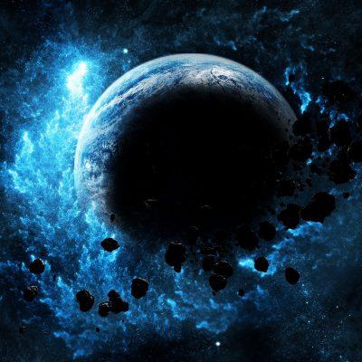 Planet Biru Meledak