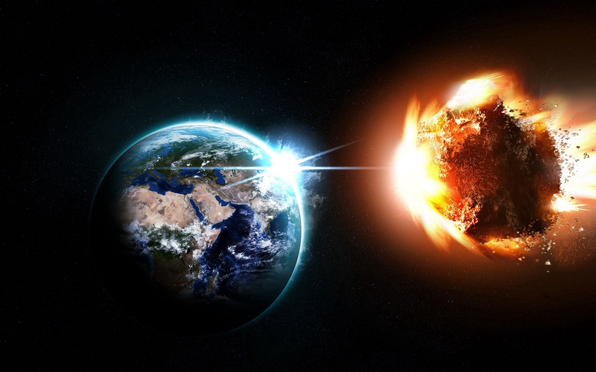 Planet Meteor Asteroid