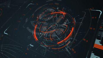 teknologi digital hologram wallpaper