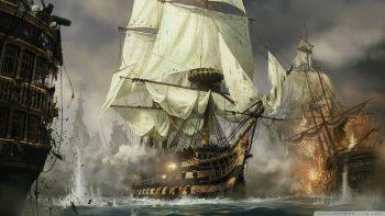 age of empires kapal perang wallpaper