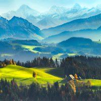 Gambar Alam Dengan Pemandangan Indah