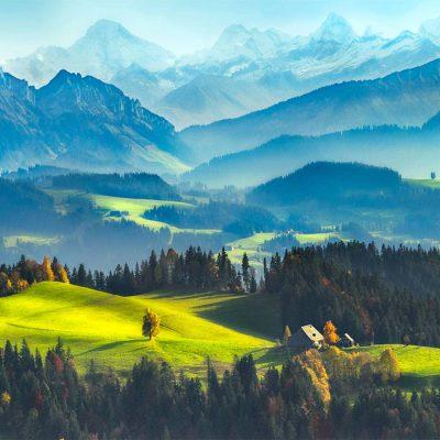 alam dengan pemandangan indah