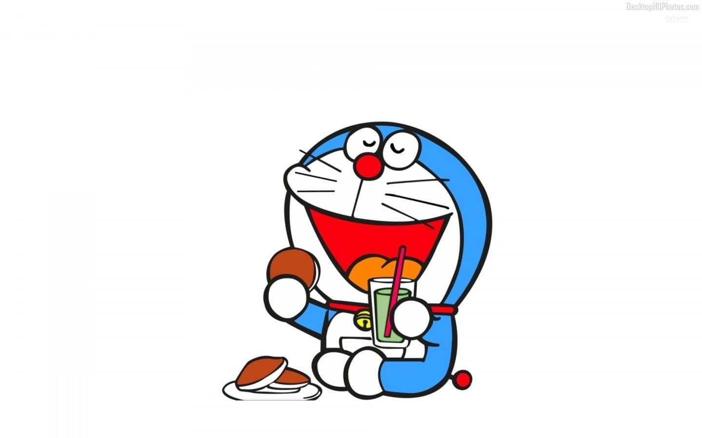 Doraemon Lucu dan Imut Lagi Makan Dorayaki