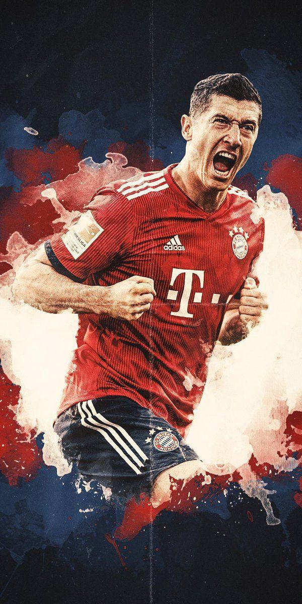 Lewandowski Aestetik Bayern Munchen Wallpaper