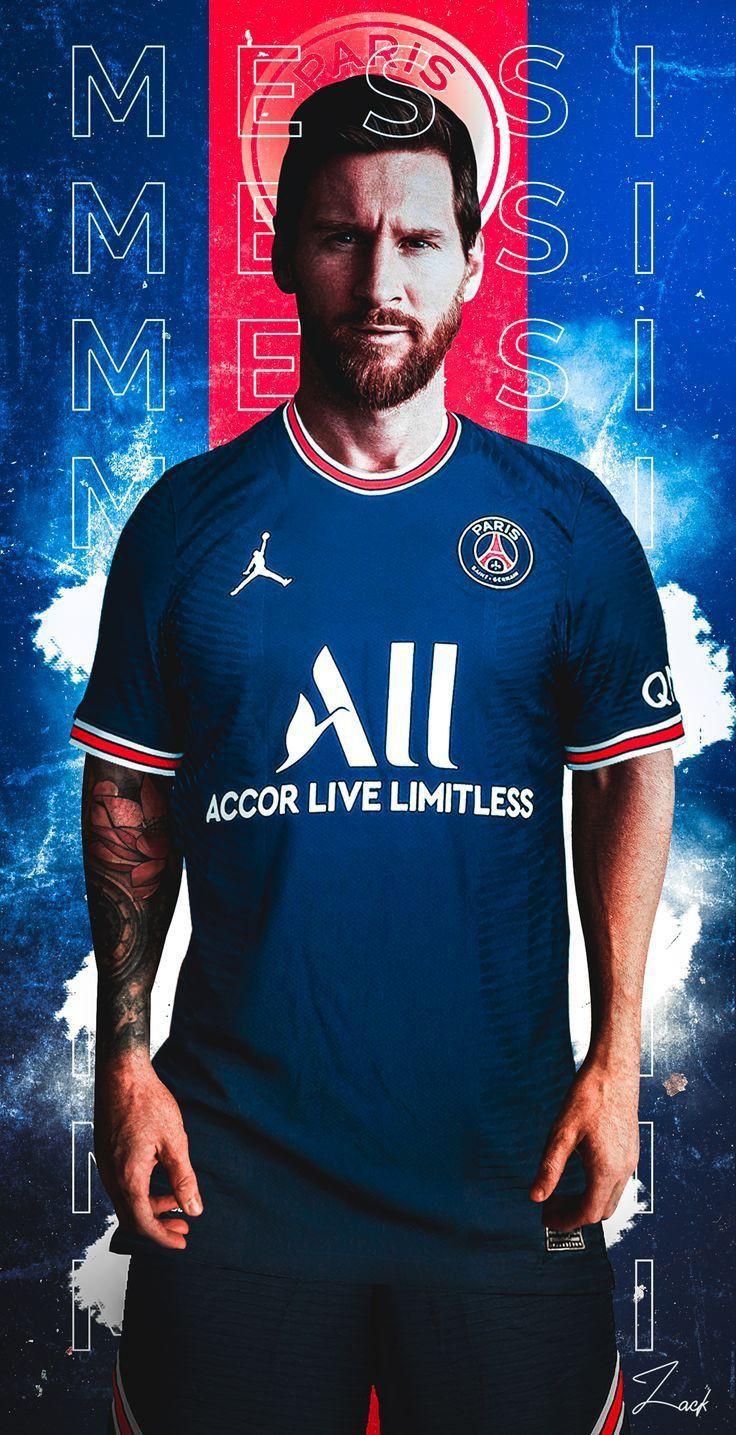 Lionel Messi PSG Wallpaper Handphone
