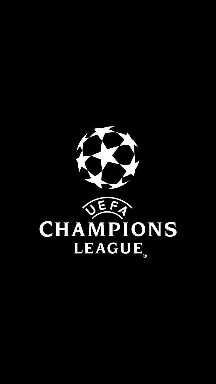 Liga Champions Logo Hitam Putih
