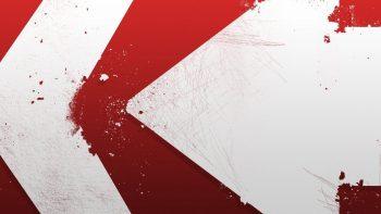 Wallpaper Merah Putih Abstrak