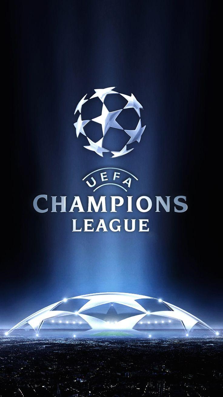 Liga Champions Logo & Stadion Bola