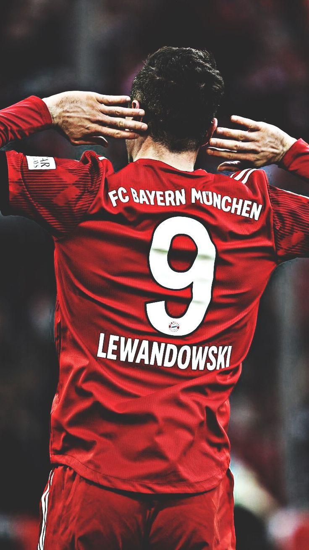 Lewandowski Bayern Munchen No 9