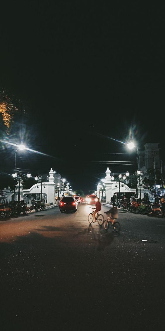 Background Jogja HD Malam Hari Aesthetic