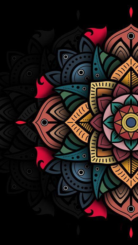 Bunga Kertas Abstrak Android & iPhone Wallpaper