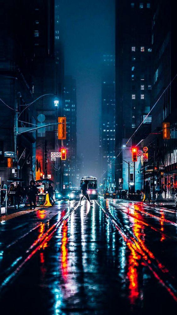 Foto Kota Malam Hari HD