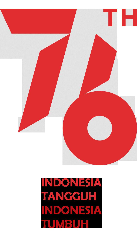 Logo 17 Agustus 2021 ke 76 Format PNG
